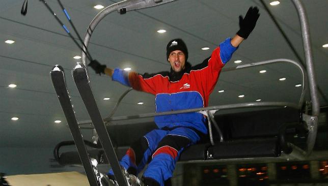 2008 - Djokovic at ski dubai