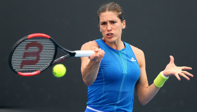 Germany's Andrea Petkovic was playing in the Davis Cup tie.