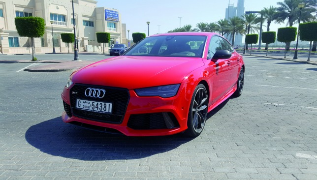 car of the week audi rs7 performance photos sport360. Black Bedroom Furniture Sets. Home Design Ideas