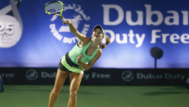 Elina Svitolina beats Caroline Wozniacki for Dubai title