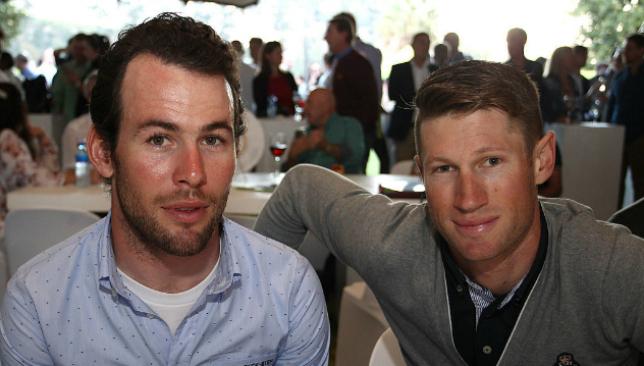 Cavendish (l) and Renshaw
