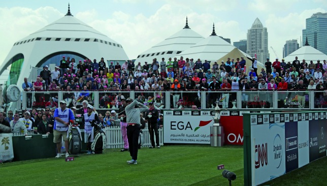 Emirates Golf Club - long-term hosts of the Dubai Desert Classic.