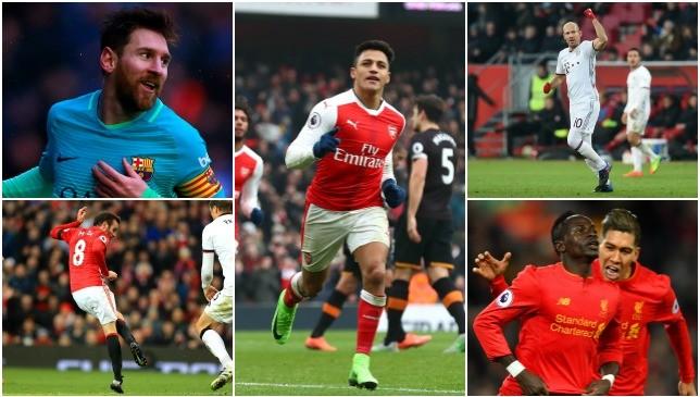 Plenty of goals on Saturday.