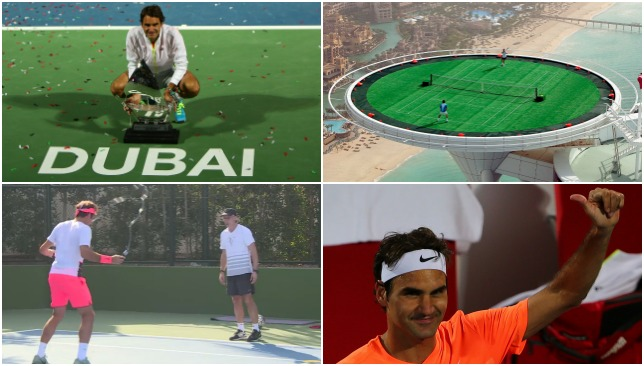 Federer's love affair with Dubai.
