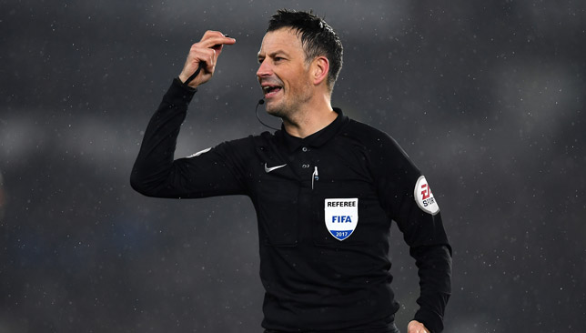 Clattenburg is regarded as one of the best referees in the world.
