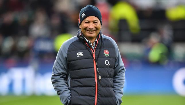 England coach Eddie jones.