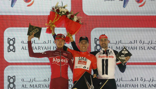 UAE Team Emirates captain, Rui Costa, takes the Abu Dhabi Tour title.