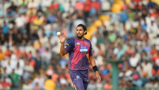 Ishant Sharma was released by Pune after just one season.