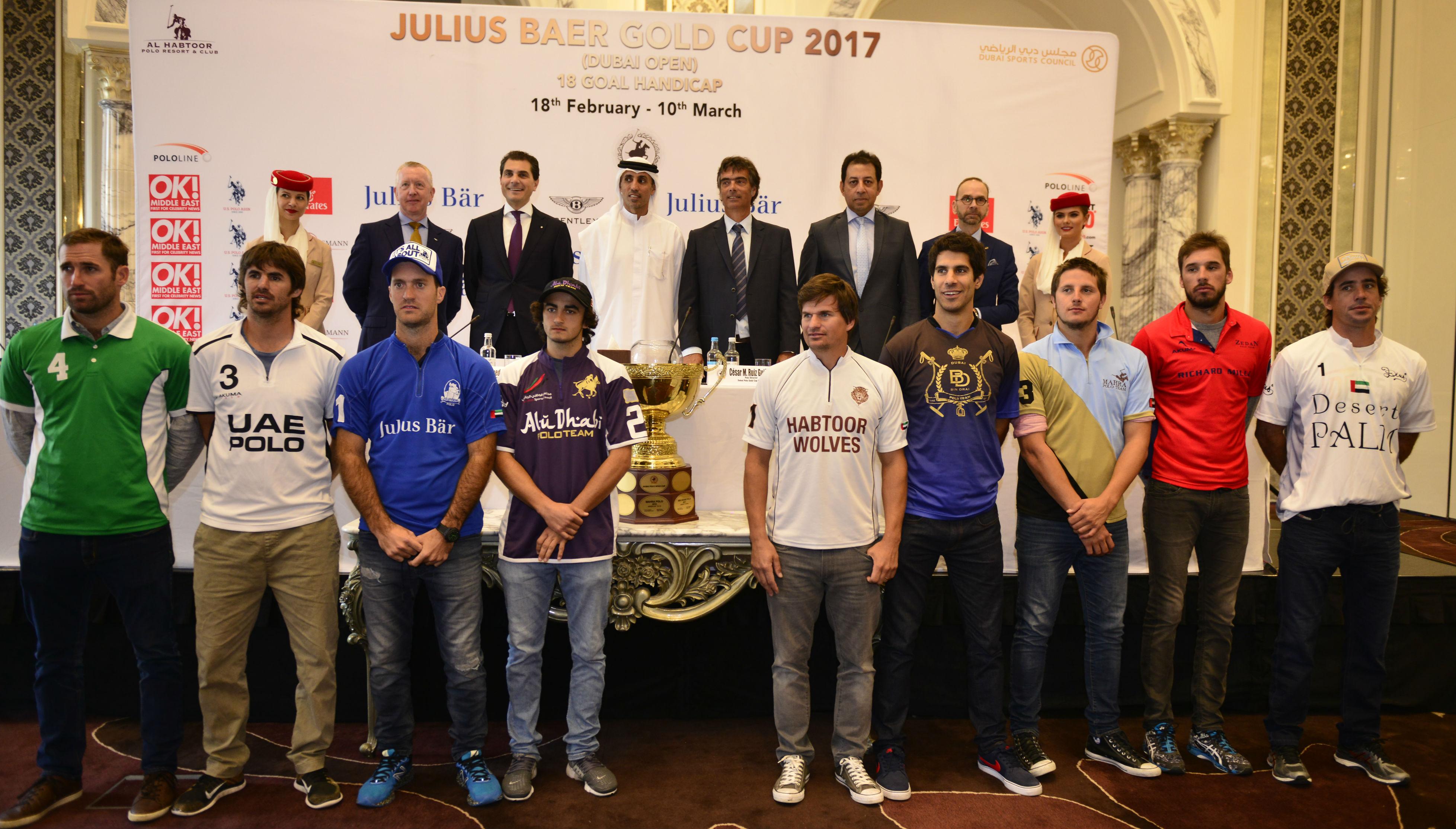 Julius Baer Gold Cup teams