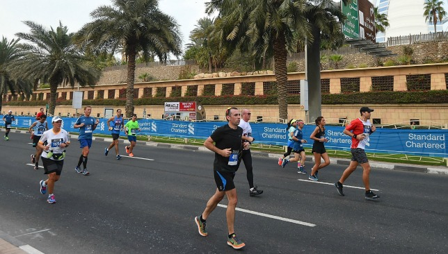 Have you run a marathon in the GCC?