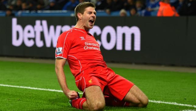Kop King: Gerrard will be in town.