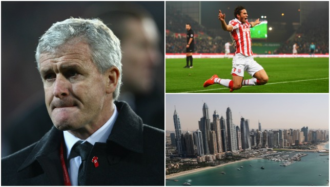 Stoke are the latest EPL team in the UAE.