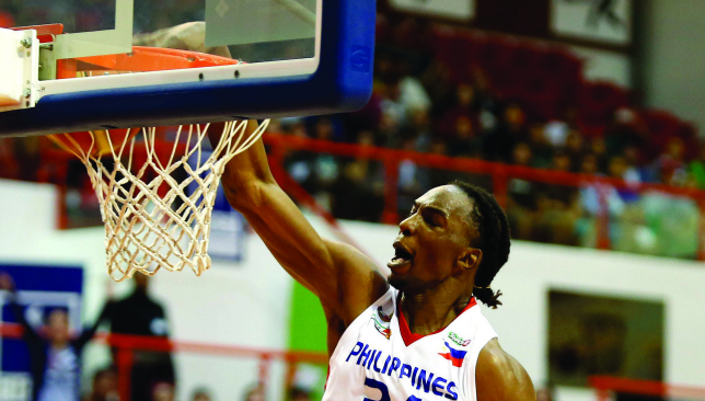 Mighty Sports' Hasheem Thabeet slams home a dunk. Chris Whiteoak
