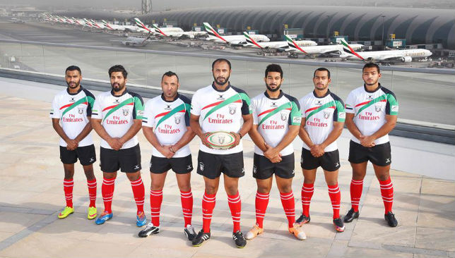 UAE Rugby Team.