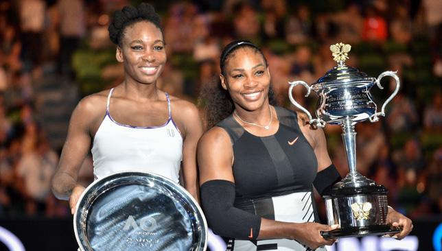 Super sisters: Venus and Serena.
