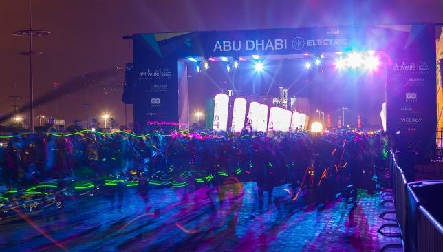 Abu Dhabi Electric Run 2017