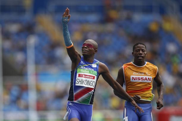Ananais Shikongo of Namibia.