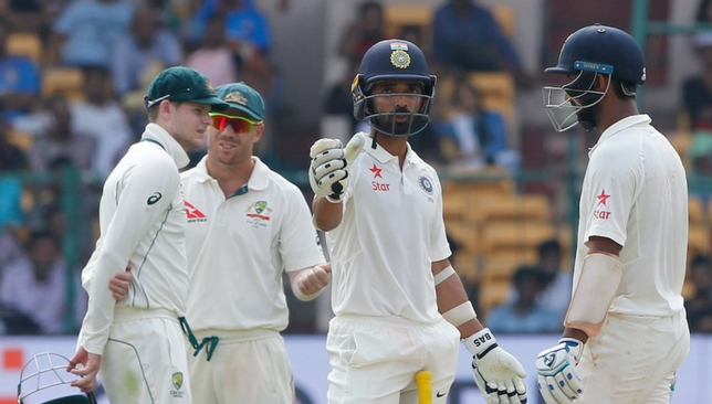 Rahane and Pujara frustrated the Aussie bowlers in the final session.