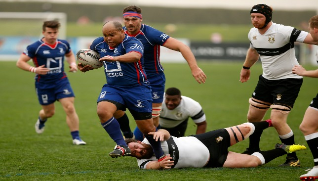 Jebel Ali Dragons and hooker Gio Fourie need a win against Abu Dhabi Saracens