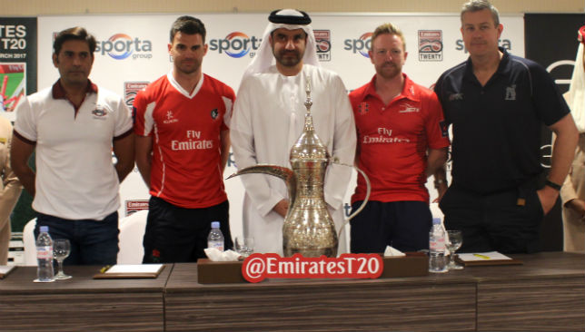 The official launch took place in Dubai earlier.