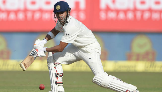 Giving it his all: Gambhir played a couple of Tests this season.