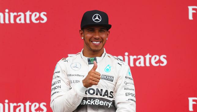 Hamilton: F1 ace enjoying short break in UAE.