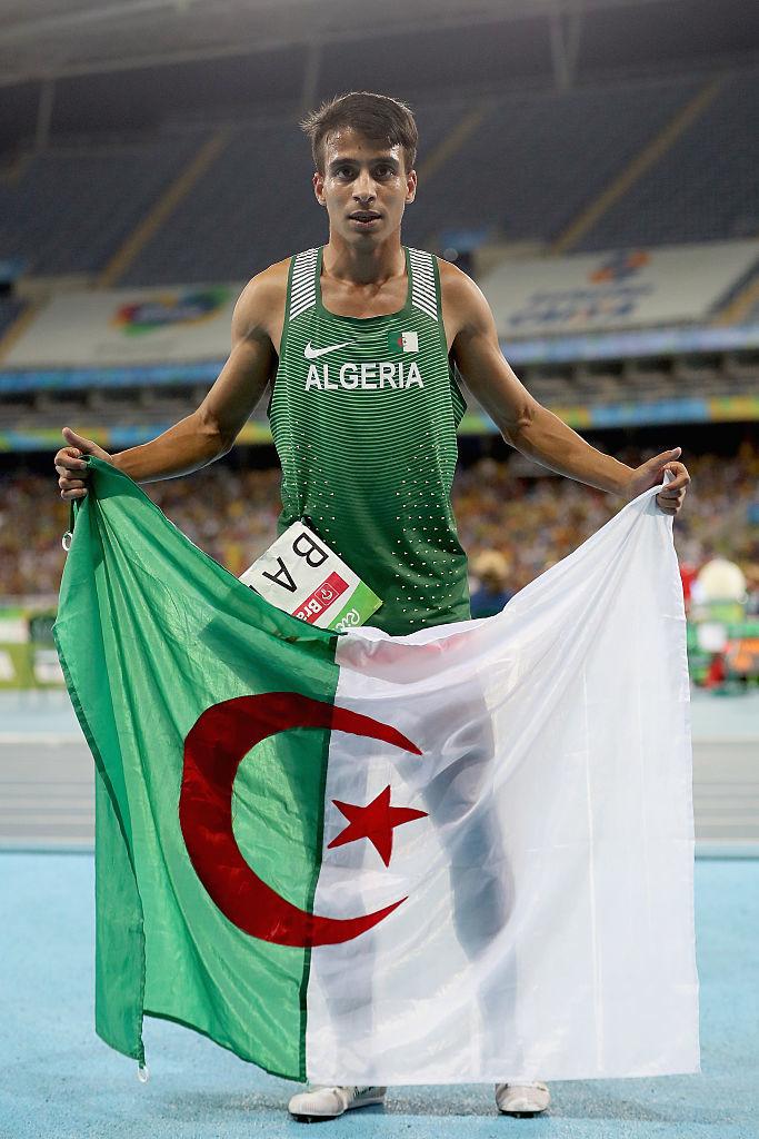 Algeria's Abdellatif Baka.