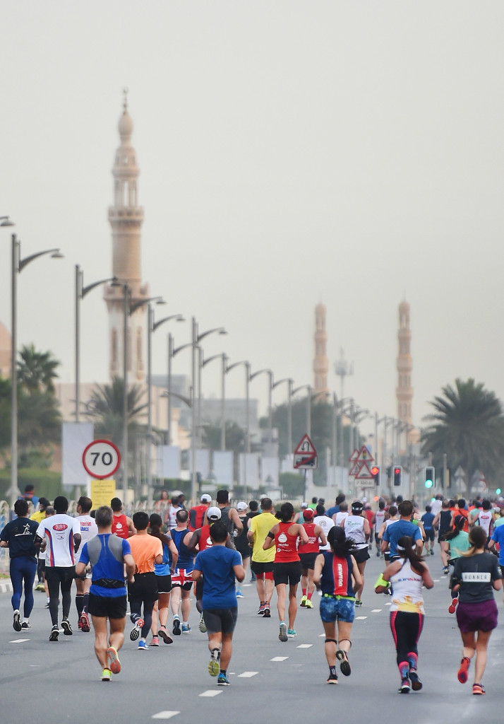 The Standard Chartered Dubai Marathon has been running since 2000.