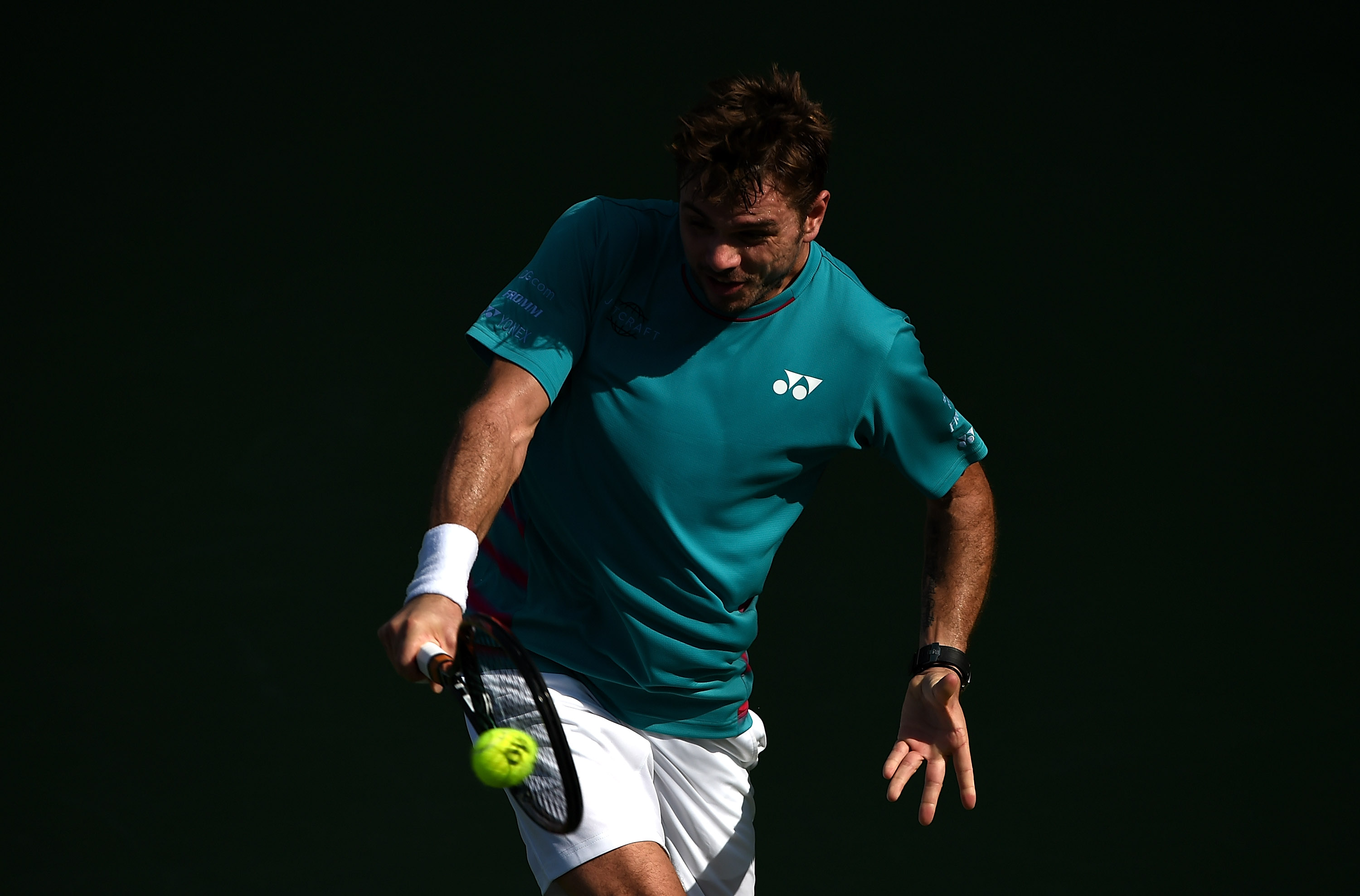 Sent packing: Stan Wawrinka