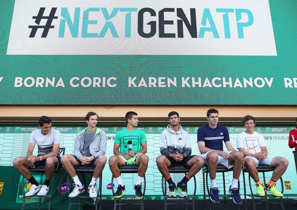 ATP's NextGen at Indian Wells.