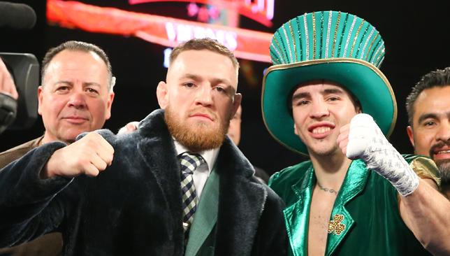 Conor McGregor and Michael Conlon.
