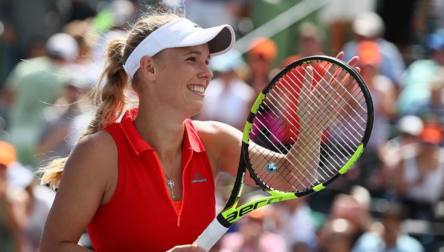 Carolina Wozniacki will face Joanna Konta.