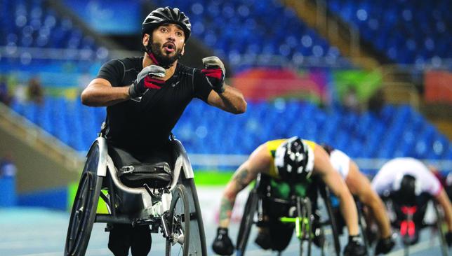 UAE hero: Mohammed Al Hammadi.
