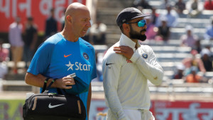 Virat Kohli got injured during day one of the third Test against Australia.