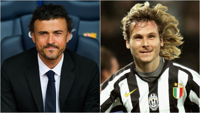 Endurance go-getters: Enrique and Nedved.