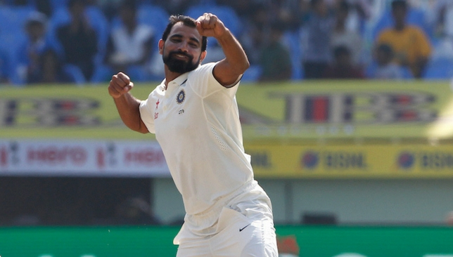 Shami is likely to feature in the fourth Test [Sportzpics]