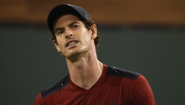 Another loss: For Andy Murray at Indian Wells.