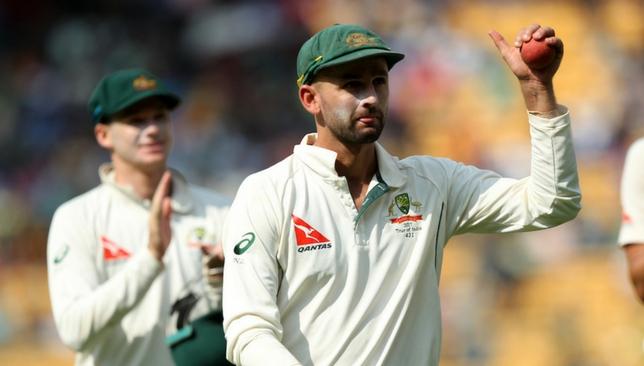 Australia spinner Nathan Lyon.