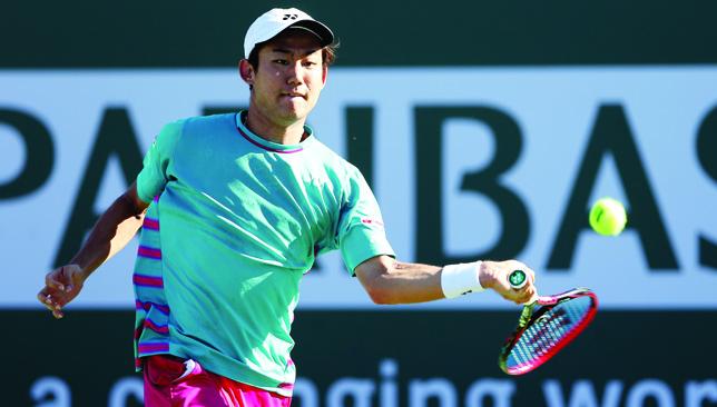 Massive comeback: From Yoshihito Nishioka,
