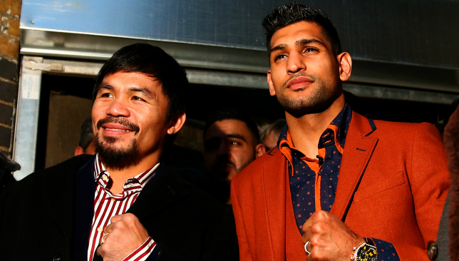 Destination Dubai: Manny Pacquiao and Amir Khan.