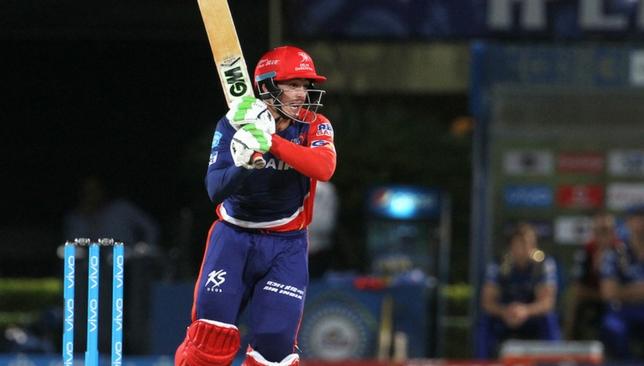 De Kock batting for the Daredevils in IPL2016 [Sportzpics]