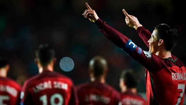 Can Ronaldo make it to top spot?