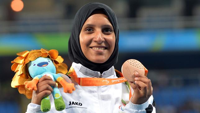 UAE's Sara Al Senaani.