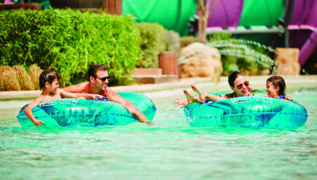 Fun for all the family: Whether it's exhilerating rides or chilling out on the lazy river, Yas Waterworld has it all.