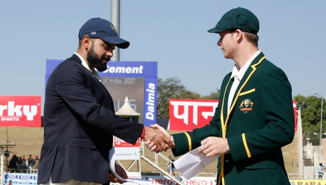 Captains Virat Kohli and Steve Smith [Sportzpics]