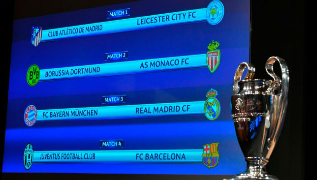 Champions League Quarter Final Draw 2018 Dates Les Baux De Provence