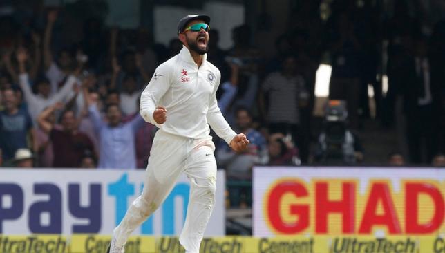 Virat Kohli during the Test series [Sportzpics]
