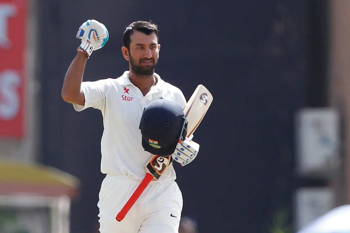 Pujara, Saha frustrate Australia as India close on lead