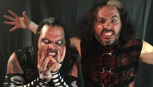 The Hardys have been a hit with their Broken gimmick.