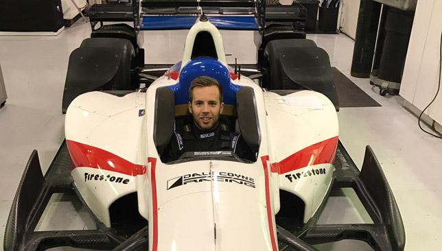 In the driving seat: Ed Jones.